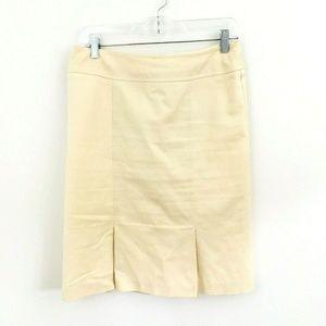 Nanette Lepore Ivory Pleated Skirt 6